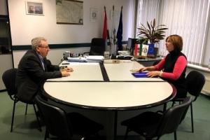 Egyeztetés a Magyar Bányászati és Földtani Szolgálattal