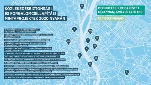 Indulnak a közlekedésbiztonsági és forgalomcsillapítási mintaprojektek Budapesten
