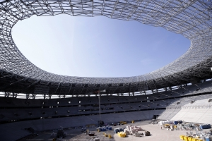 Fürjes Balázs: ütemszerűen és költségemelkedés nélkül halad a Puskás Aréna építése