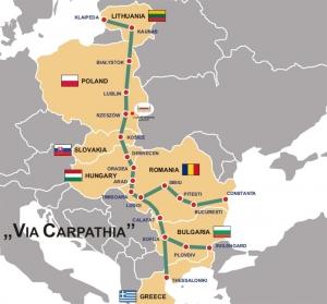 Lengyelországban aláírták a Via Carpatia közlekedési folyosó megépítését célzó megállapodást