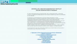 Támogatás az online szabványkönyvtár előfizetéséhez